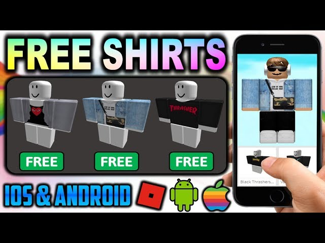 How To Get Free Clothes On Roblox Mobile