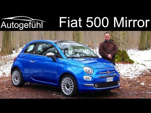 Fiat 500 Mirror FULL REVIEW test drive - Autogefühl