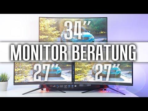 MONITOR KAUFEMPFEHLUNG 2018 - DER perfekte Gaming Monitor!