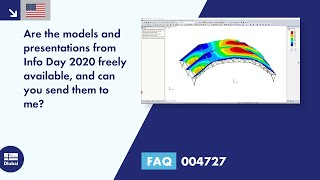 FAQ 004727 | Are the models and presentations from Info Day 2020 freely available, and can you send them to me?