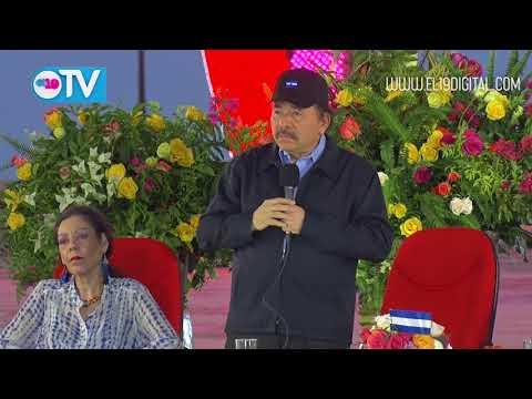 Daniel y Rosario reciben Antorcha de la Libertad y la Unidad Centroamericana