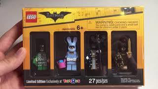 Lego Batman - Эксклюзивные Минифигурки Toys R Us Review (обзор)