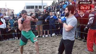 PROFESSIONAL MMA FIGHTER vs A REGULAR MAN