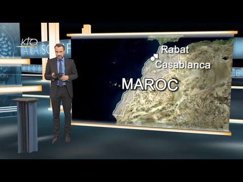 LE PAPE AU MAROC   ATTENTATS DU 13 NOVEMBRE   JOURNEE MONDIALE DES PAUVRES