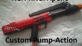 Nerf Rival Apollo Custom Pump-Action Mod