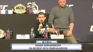 Khabib Nurmagomedov Has Message For Conor McGregor