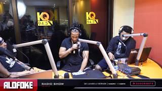 """El Alfa """"El Jefe"""" visita sorpresa en Alofoke Radio Show (ENTREVISTA HISTÓRICA)"""