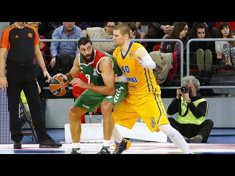 Top 16, Round 10 MVP: Ioannis Bourousis, Laboral Kutxa Vitoria Gasteiz