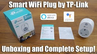 TP-Link HS100 WiFi Smart Plug [Unboxing and Setup]