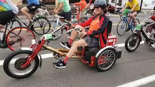 Guy makes his own Pedi-Trikes