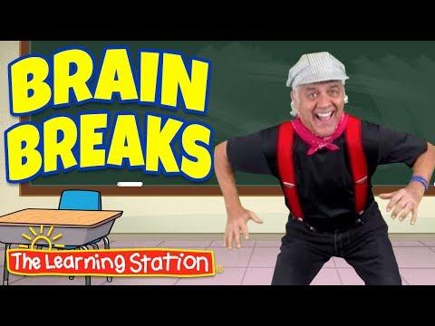 Brain Breaks Skip-a-Dee-Doo ♫ Brain Breaks Song ♫ Action & Dance Kids Songs by The Learning Station