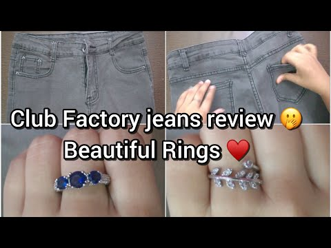 Club Factory Haul || Jeans Review || Honest Review || Awesome Rings || coupon code 3629816 ||