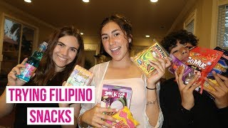 First Time Trying Filipino Snacks!