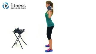 Total Body Strength Training & Bodyweight Cardio Intervals - Sore Today Strong Tomorrow by FitnessBlender