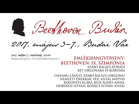 Beethoven Budán 2017 - Beethoven IX. szimfónia - video preview image