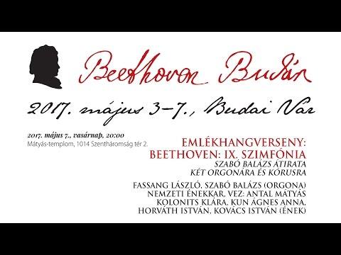 Beethoven Budán 2017 - Beethoven IX. szimfónia - video preview image
