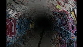 HAUNTED HELL TUNNEL (SCARY Satanic Tunnel) HELLS GATE 666