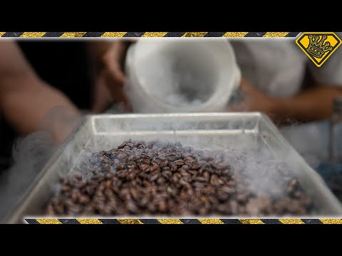 Coffee Beans at -346 °F Has an Unexpected Flavor