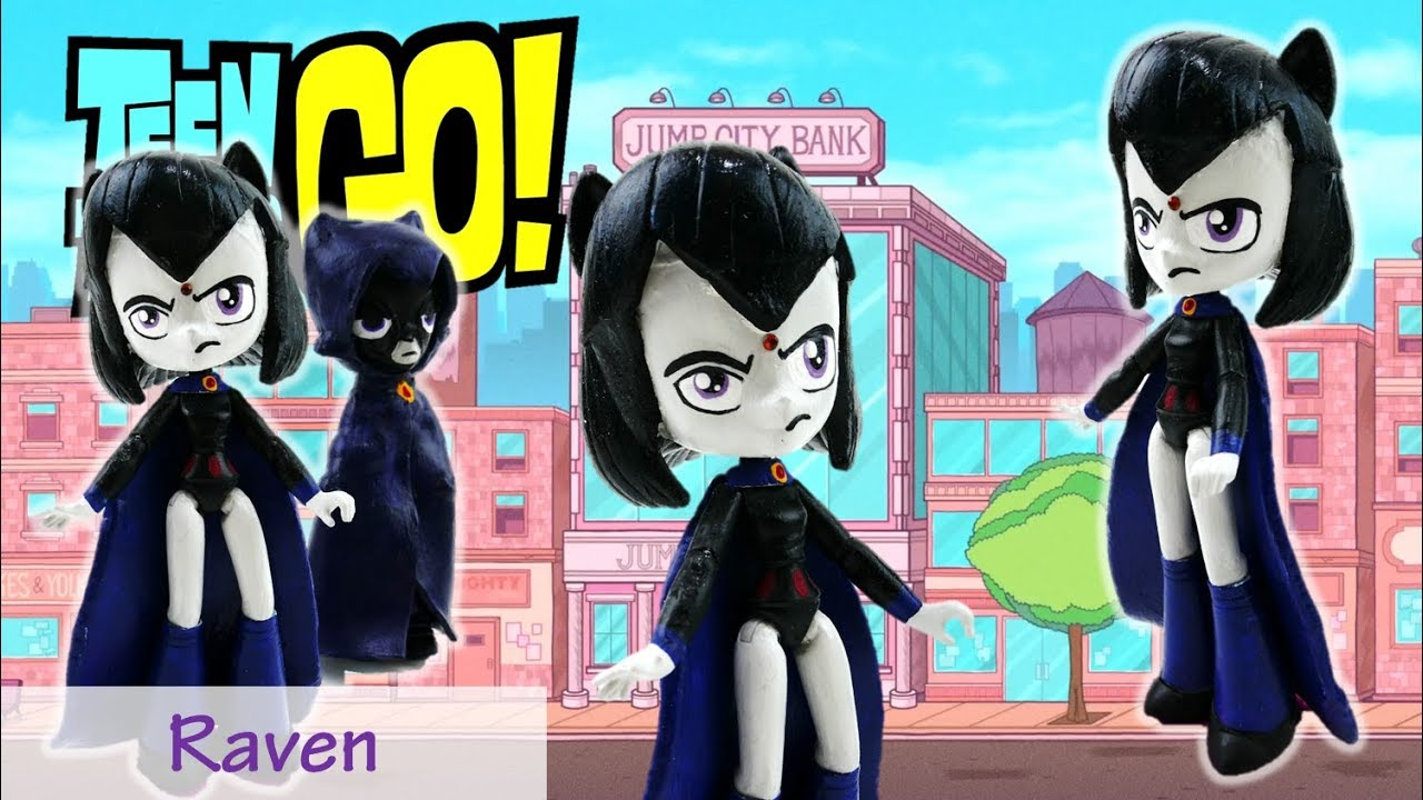 Teen Titans Go! Custom My Little Pony Raven Doll Equestria Girls