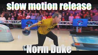 Norm Duke slow motion release - PBA Bowling