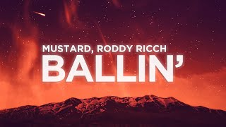​Mustard - ​Ballin (Lyrics Video) ft. Roddy Ricch | Nabis Lyrics