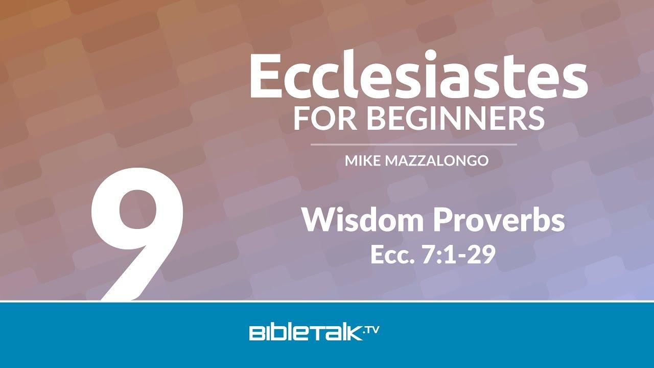 9. Wisdom Proverbs
