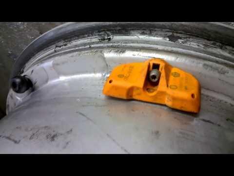 Ремонт колесного датчика давления (AUDI).