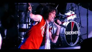 FOREIGNER in the Rain BLUE MORNING 40th Anniversary Greek Theater I ROXX AMERICA