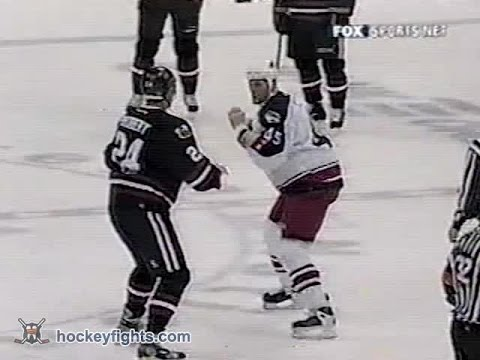 Bob Probert vs Jody Shelley