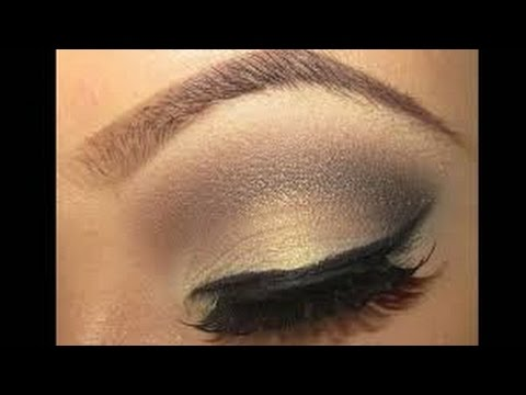 GOLDEN BROWN SMOKEY EYE TUTORIAL