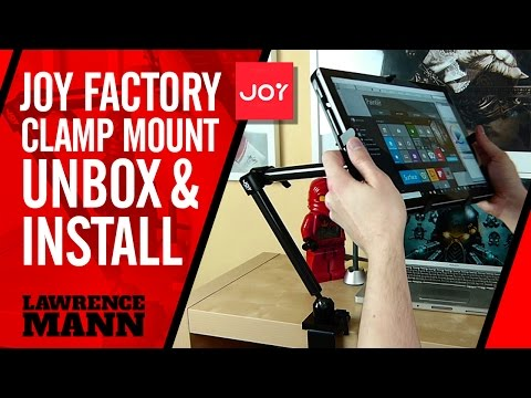 Joy Factory Clamp Mount Arm Unboxing and installation
