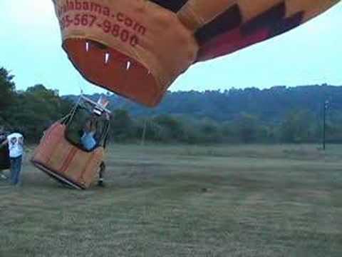 Επίδειξη φουσκώματος αερόστατου