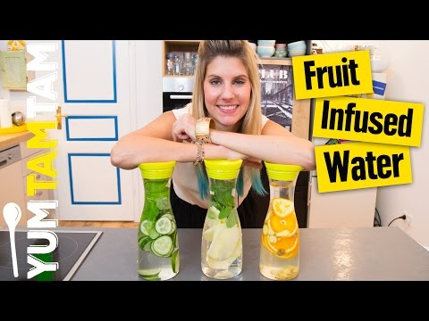 Fruit Infused Water // #yumtamfit Woche #03 // #yumtamtam