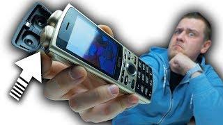 Телефон с встроенными Наушниками! SERVO R25! Телефон мультитул