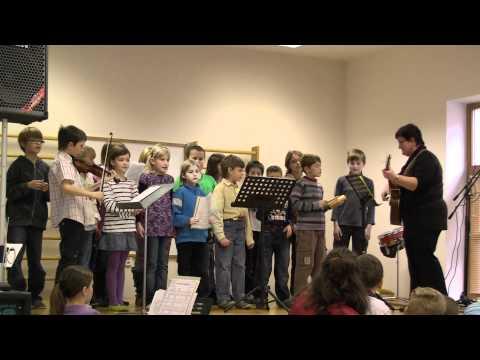 Mašovický pěvecký soubor dětí - Andulko, mé dítě (14/11/2010)