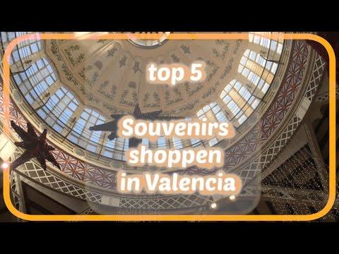 Video top 5 souvenirs kopen in Valencia / kerst shoppen met Suzie  (Dutch)
