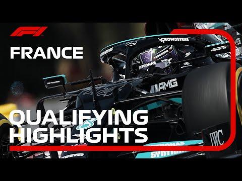 F1第7戦フランスGP(ル・キャステレ)の予選タイムアタックのハイライト動画
