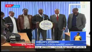ODM is challenging Jubilee party's source for billions used in prepara for the Grand Merger