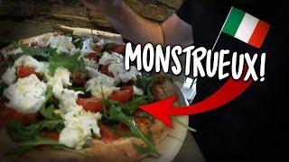 DÉGUSTATION DE PIZZA EN ITALIE, MIEUX QU