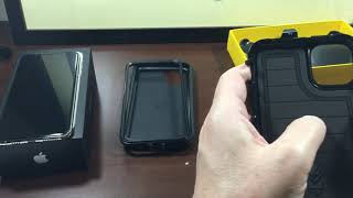 iPhone 11 Pro Max and Otterbox Defender case