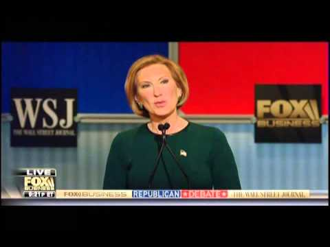 Fiorina opposite answer country failing