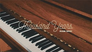 Thousand Years Piano Cover - Kurt Fernandes