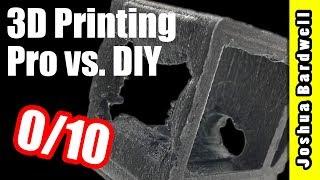 Best 3D Printing Service For FPV   SECRET SHOPPER SHOOTOUT