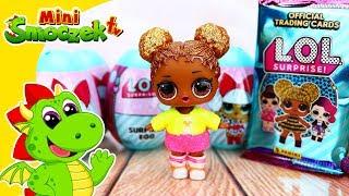 Laleczki LOL Jajka Niespodzianki i karty | Zabawki Bajki Dla Dzieci Po Polsku