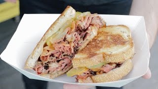 Behind The Food Carts: Reuben Truck