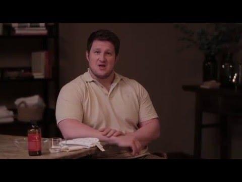 Vorwärtsbeugen in lumbalen Osteochondrose