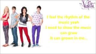 Violetta UK - Always Dancing - Instrumental/Karaoke with Lyrics