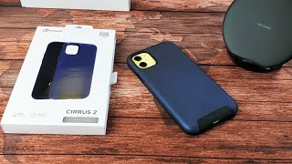 iPhone 11 / XR: Cirrus 2 Case with Embedded Magnet (Drop Tested Military Standard)