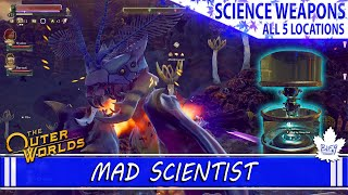 The Outer Worlds | All 5 Science Weapon Locations | Mad Scientist Achievement Guide