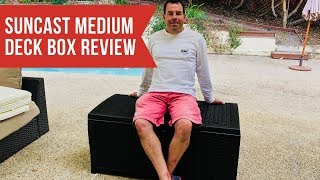 Suncast Medium Deck Box Review & Assembly Guide